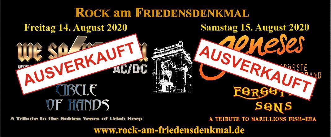 Rock Am Friedensdenkmal Das Grösste Openair Rockkonzert